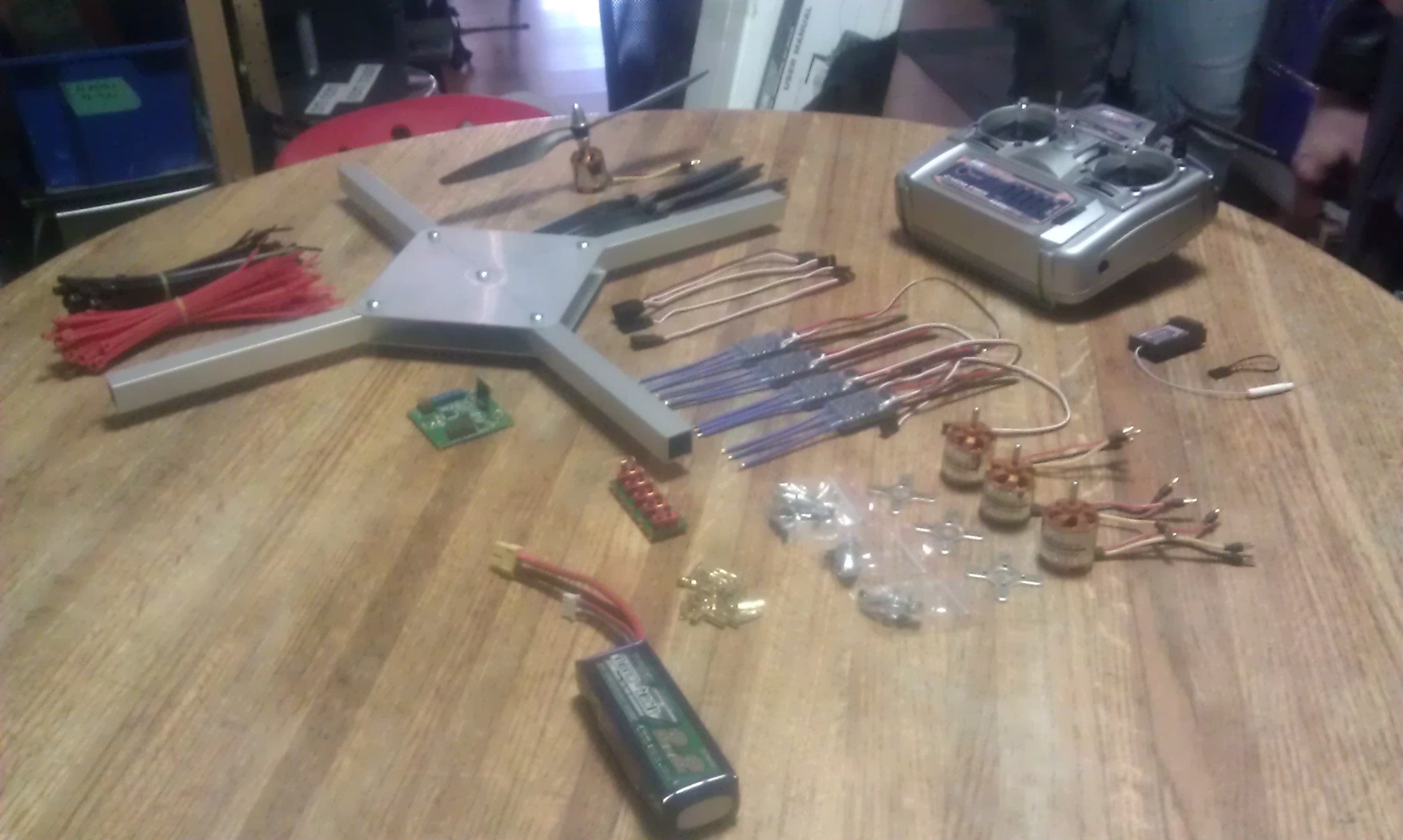 Building a Quadcopter: Part 2 – Abhishek Bhatnagar